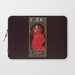 Lydia Nouveau - Beetlejuice Laptop Sleeve