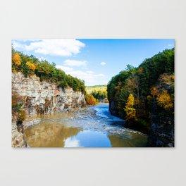 Fall in Letchworth 2 Canvas Print