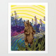 ursidae Art Print