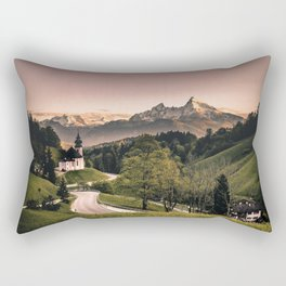 The famous Church of Maria Gern in Bavaria Germany Rectangular Pillow