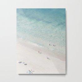 Beach Love 2  (part of a diptych) Metal Print