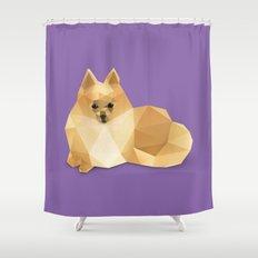 Pomeranian. Shower Curtain