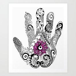 Solution - Flower Art Print