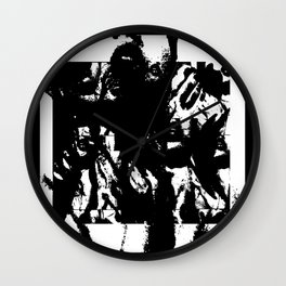 Suffocation Wall Clock