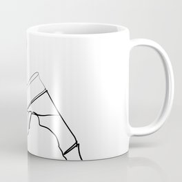 """ Profile Collection "" - Man Drinking Beer Coffee Mug"