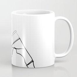 """ Profile Collection "" - Man Drinking Beer Coffee Mug"