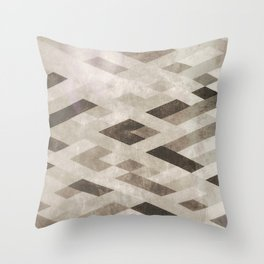Abstract Pattern in Subtle Throw Pillow