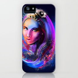 Sweetheart Blue iPhone Case