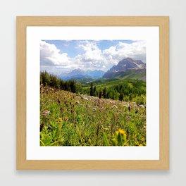Somewhere Free Framed Art Print