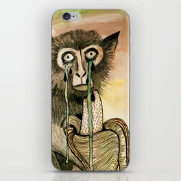 Sad Monkey iPhone Skin
