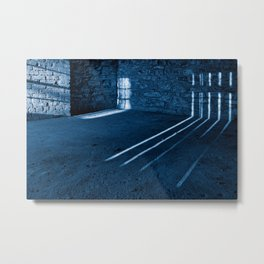 Gloomy Lockhouse Basement Metal Print