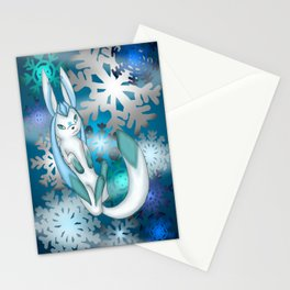 Winter Glaceon Stationery Cards