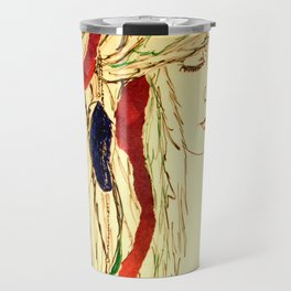 Feathers Travel Mug