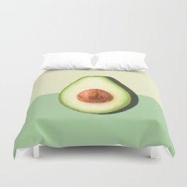 Avocado Half Slice Duvet Cover