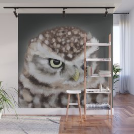Burrowing Owl Portrait II Wall Mural