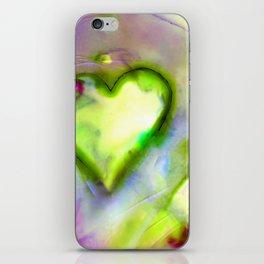 Heart Dreams 4L by Kathy Morton Stanion iPhone Skin