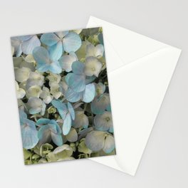 White Spring Hydrangeas Macro Flower Photography, Shabby Chic Spring Flower Decor, Bedroom Decor, Gi Stationery Cards
