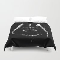 vader Duvet Covers featuring Vader by Purple Cactus