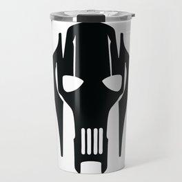 General Grievous Face Silhouette Travel Mug
