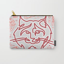 Canadiana Icons - Lynx Carry-All Pouch