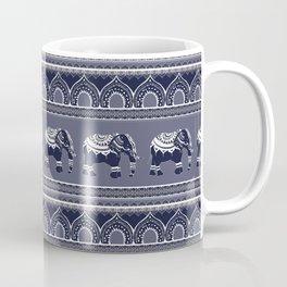Ethnic pattern/ Elephants Coffee Mug