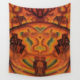 Face of War Wall Tapestry