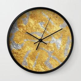 Golden Art Wall Clock