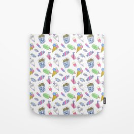 Birthday party candy art Tote Bag