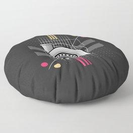 turbo engine Floor Pillow