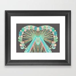 Color-Wheel Love Framed Art Print
