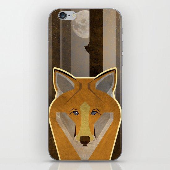 Night Fox iPhone & iPod Skin