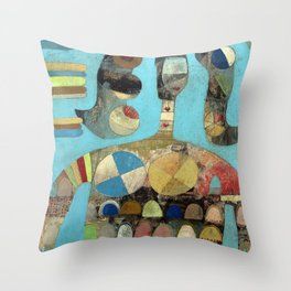 Rent Is Due Throw Pillow