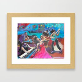 Bayou Blues Framed Art Print