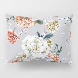 Blooming Flowers I Pillow Sham