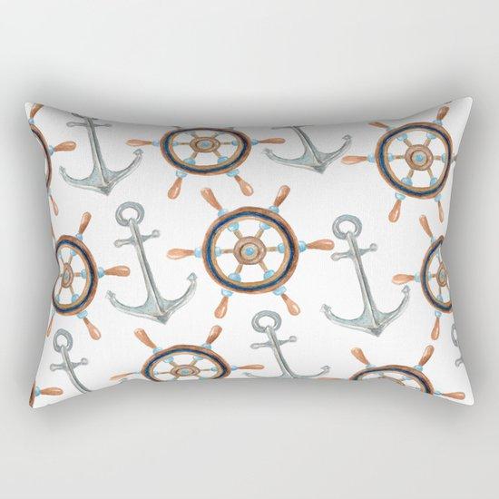 Nautical #1 Rectangular Pillow