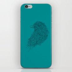 Tosca line art bird illustration iPhone & iPod Skin
