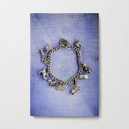 Charm Bracelet Metal Print