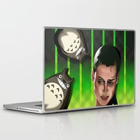 ripley Laptop & iPad Skins featuring In space no one can hear you scream by milanova