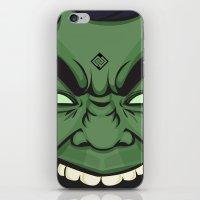 hulk iPhone & iPod Skins featuring Hulk by illustrationsbynina