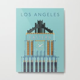 Eastern Columbia Building Los Angeles Art Deco Metal Print