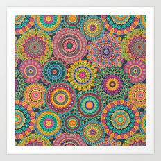 Kaleido-Eden colors Art Print