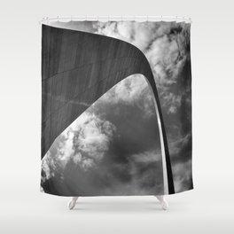 Gateway arch in St-Louis Shower Curtain