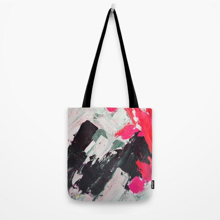 Hot Pink Franz Tote Bag