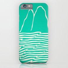Sea Foam Waves Slim Case iPhone 6s