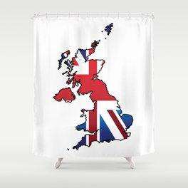 Great Britain Shower Curtain