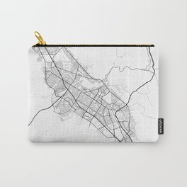 Minimal City Maps - Map Of Fremont, California, United States Carry-All Pouch