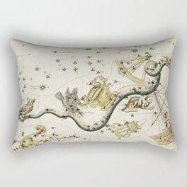 Antique Constellations Rectangular Pillow