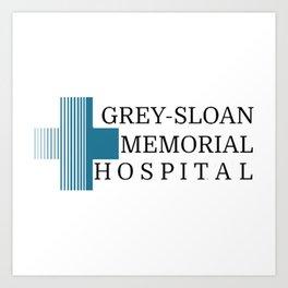 Grey Sloan Memorial Hospital Art Print