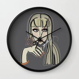 Haircut 3 Wall Clock