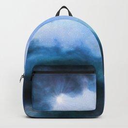 Nebula Cloud - Blue & Pinks Backpack